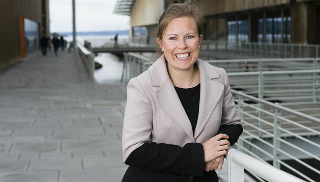 Caroline Skaar Landsværk arbeider med fornybar energi i Wikborg Rein.