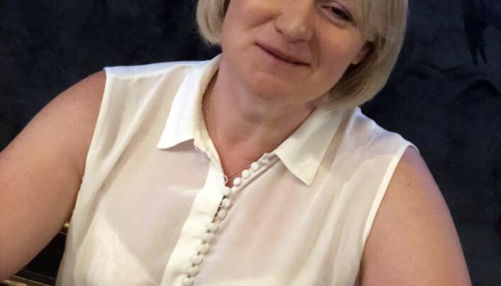 <html><head></head><body> Alison Hook,, nestleder i IBA Bar Issues Commission og International Trade in Legal Services Committee, mener utveksling av erfaring på tvers av landegrenser er en stor fordel for advokatfirmaene. Foto: Thea N. Dahl</body></html>
