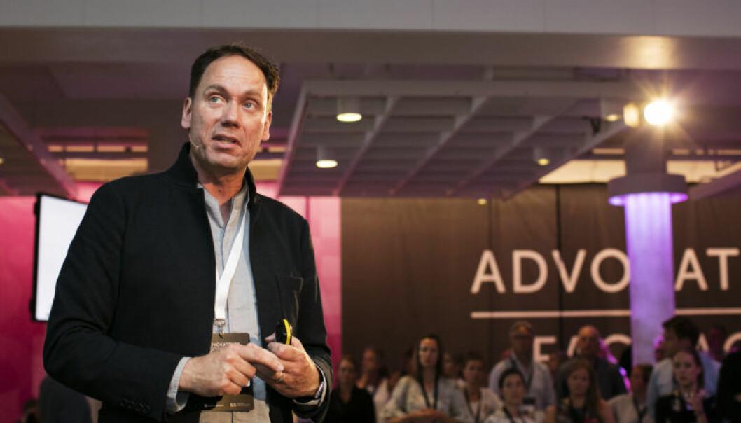 Eric Vermeulen sier at advokatbransjen må være framoverlente i møte med den teknologiske utviklingen. Foto: Monica Kvaale