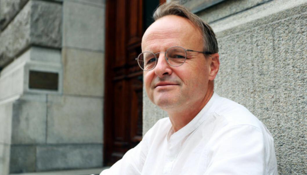 <html><head></head><body> Håkon Wium Lie håper debatten om rettsavgjørelser ender med full åpenhet uten vederlag. Foto: Thea N. Dahl</body></html>