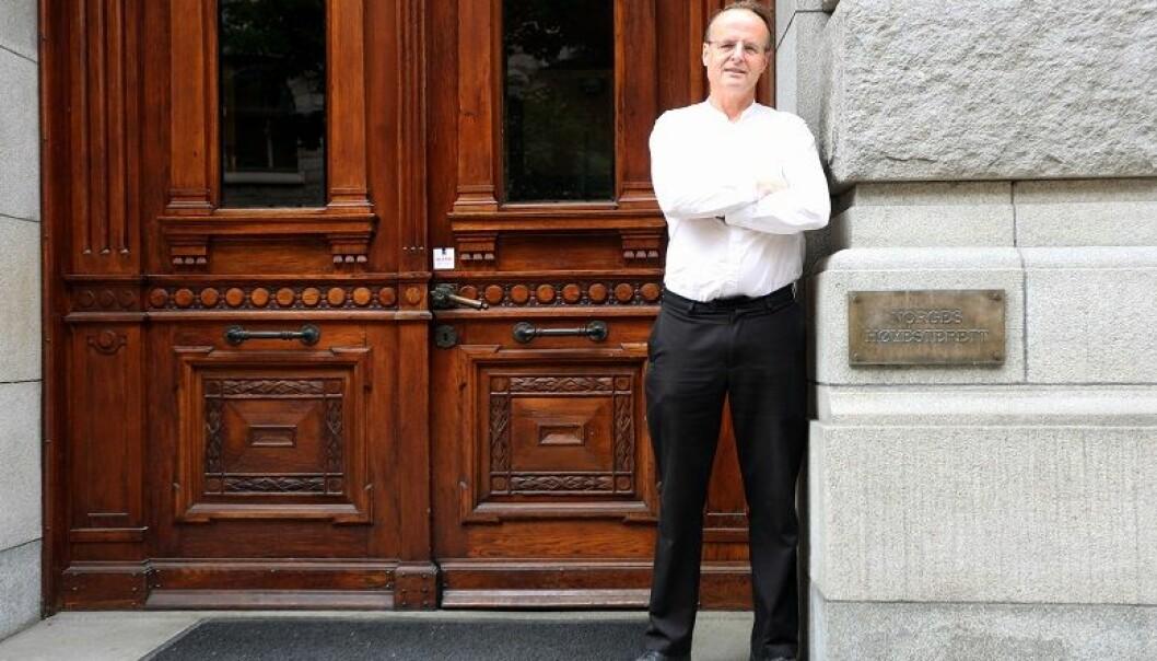Håkon Wium Lie, en av to initiativtakere bak nettstedet Rettspraksis.no.