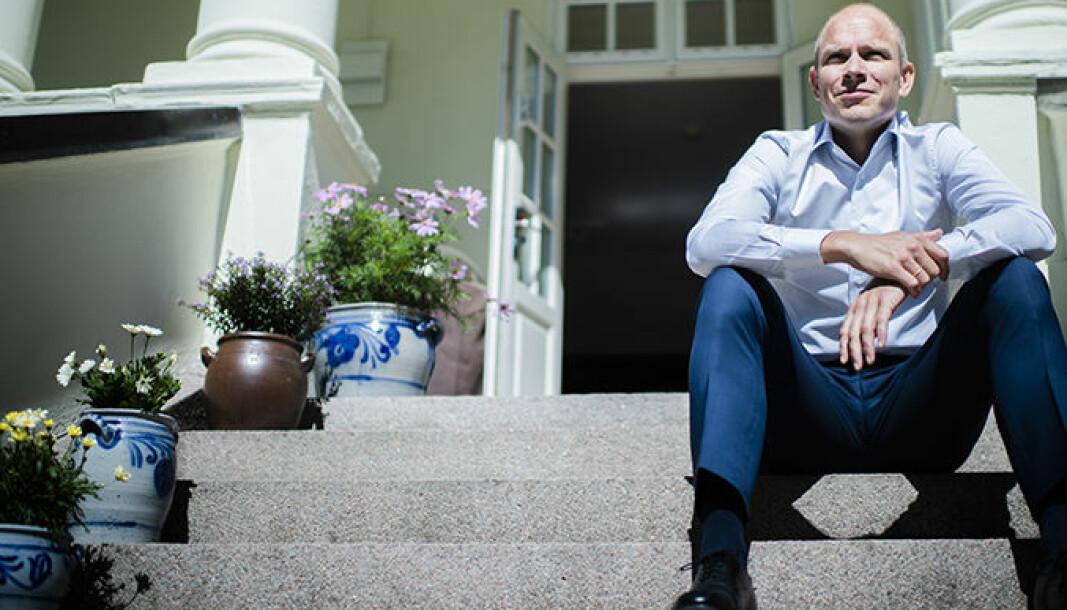 Sverre Tyrhaug kan glede seg over en sterk Thommessen-vekst i 2021.