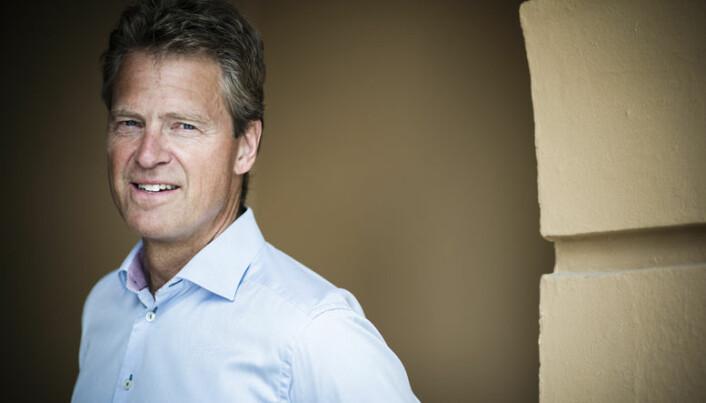 Advokatforeningens leder Jens Johan Hjort. Foto: Henrik Evertsson