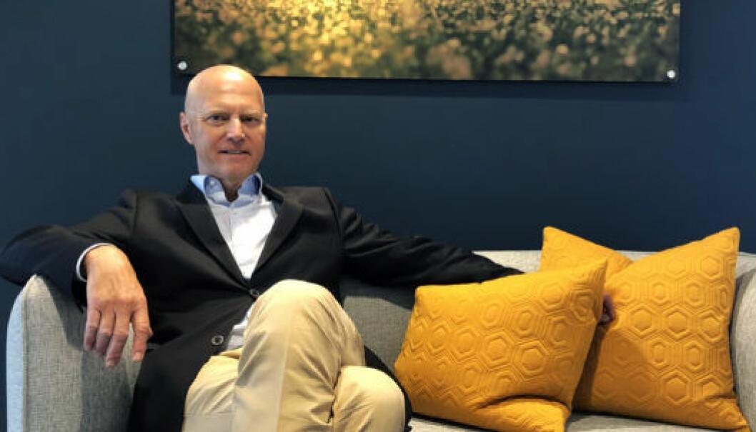 Glittertind-partner Anders Ryssdal mener advokatprøven griper inn i det frie advokatvalget. Foto: Thea N. Dahl