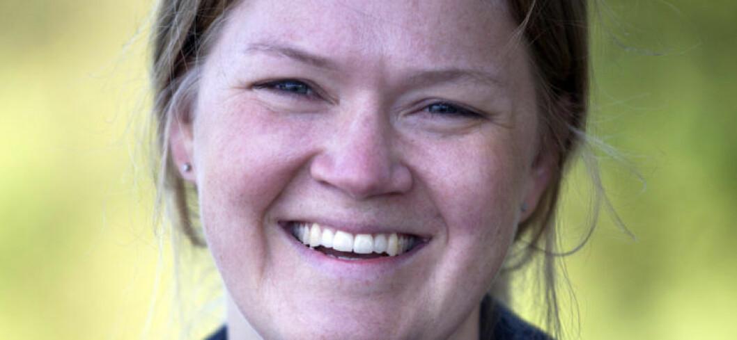 Advokat Ingrid Lauvås vil snakke direkte med barn og unge på Snapchat. FOTO: Privat