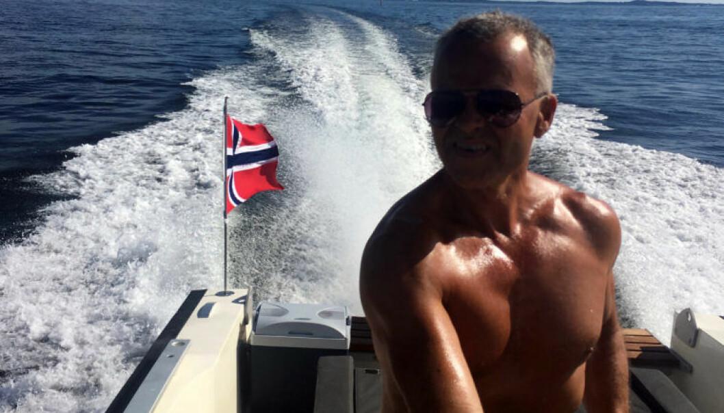 Geir Woxholth jakter sjelelig harmoni for å havne i feriemodus. I påvente av å nå målet legger han sommeren til Fjällbacka i Sverige. FOTO: Privat