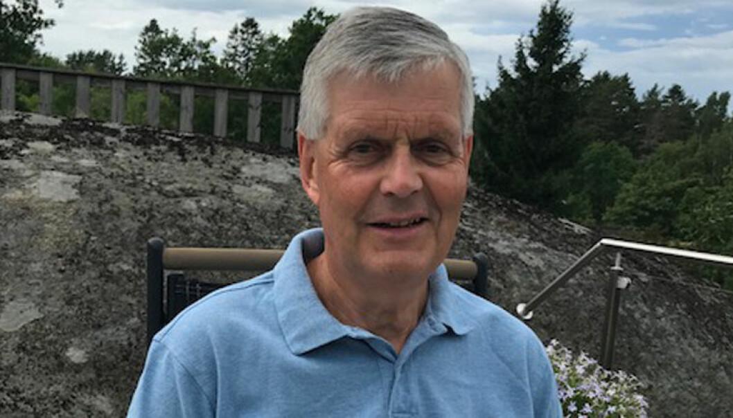 Advokat Sverre Koch tilbringer deler av sommeren på Tjøme, og i Nord Norge. Foto: Privat