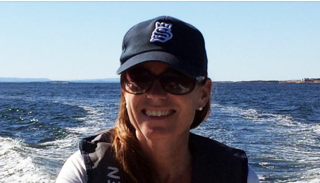 For Cecilie Nakstad er det bare én ting som trengs for å havne i feriemodus: Hvaler. FOTO: Privat