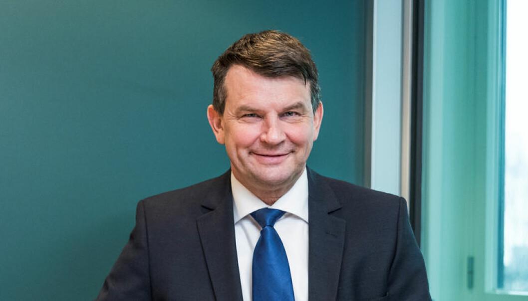 Justisminister Tor Mikkel Wara (Frp) er glad for å få på plass endringene raskt. Foto: Olaf Heggø, Fotovisjon