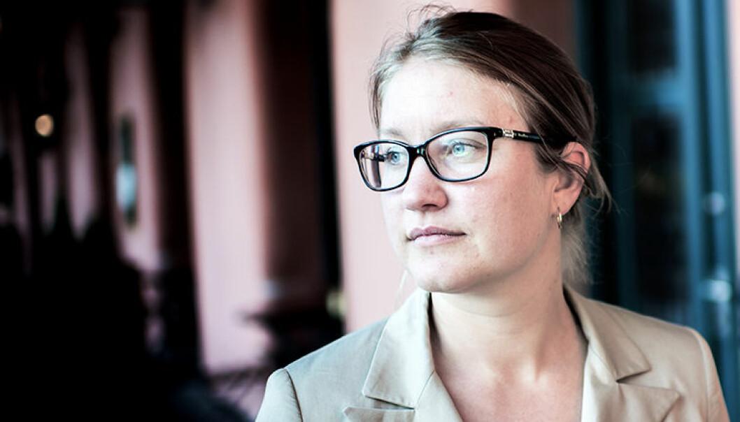 For Advokatforeningens kvinneutvalg er familieetablering et viktig nøkkelord for advokatbransjens utfordring med de kvinnelige talentenes frafall, sier utvalgsleder Tina Storsletten Nordstrøm. Foto: Henrik Evertsson