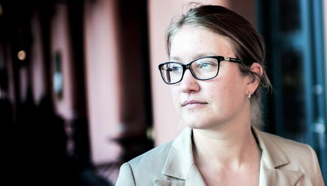 - Jeg vet heller ikke hva som er tallene generelt i arbeidslivet, men jeg synes dette var skummelt høyt, sier Tina Storsletten Nordstrøm. FOTO: Henrik Evertsson