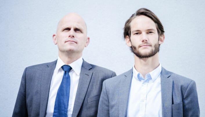 <html><head></head><body> Gaute Melås har vært advokatfullmektig i Hjort siden 2016. Her med Hjort-partner og prinsipal, Henrik Boehlke. Foto: Henrik Evertsson</body></html>