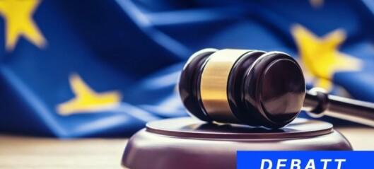 EØS-homogenitet gjennom dialog - og hva med lovgivning?