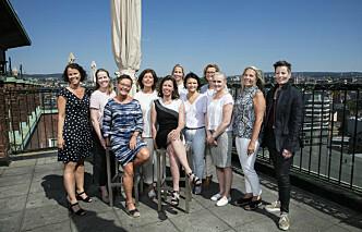 Nå er 13 av 19 kretsledere kvinner!