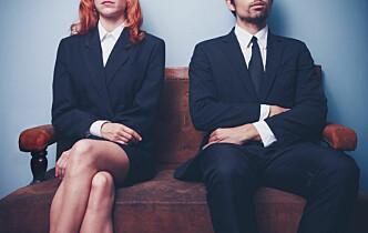 Mannlige partnere tjener 56 prosent mer enn kvinnelige