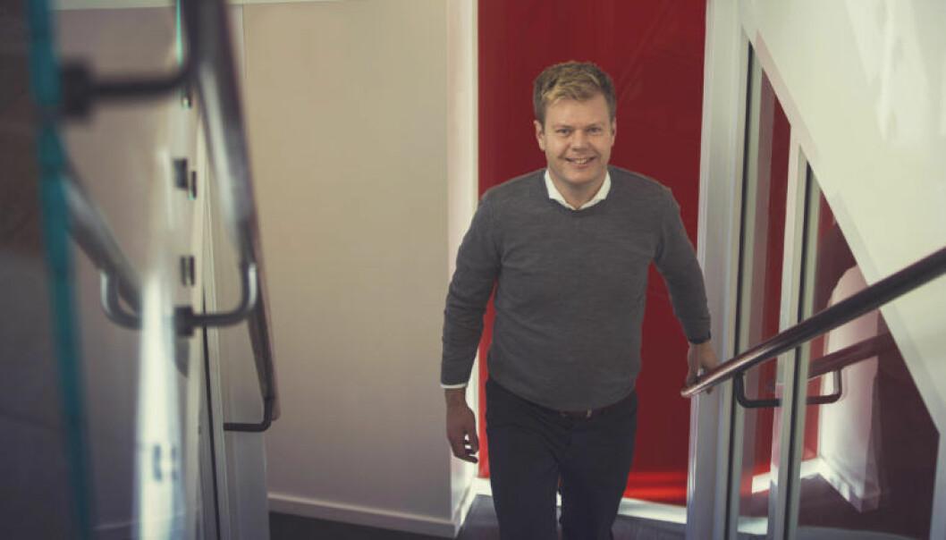 Arne Steen Slåttå er direktør for digital innovasjon i Haavind. Foto: Hoan Ngoc Nguyen