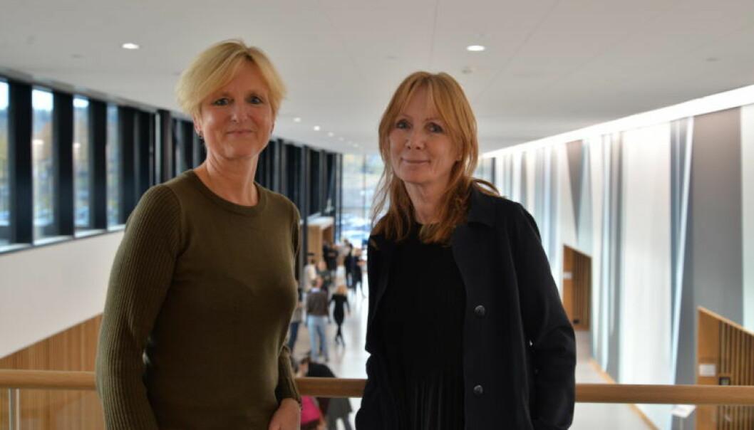 – Husk at politiforklaringen ikke er en fasit, så følg nøye med under aktors utspørring, råder Helene Haugland og Anne Kroken.