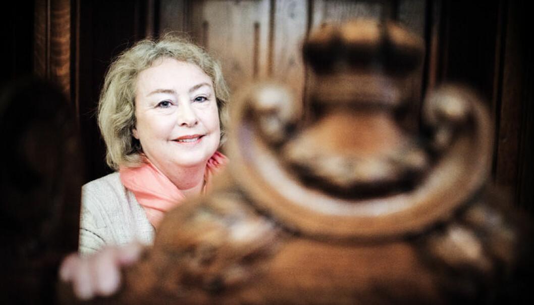 Høyesterettsjustitiarius Toril Marie Øie inviterer advokater til tettere dialog. Foto: Henrik Evertsson