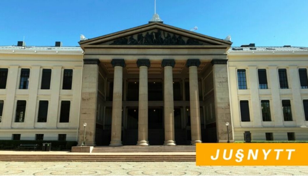 Midtbygningen, Juridisk fakultet. Foto: Thea N. Dahl