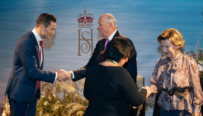 Geir Sviggum var blant de utvalgte i den norske delegasjonen til Kina som ble invitert på kongeparets middag for norske og kinesiske næringslivsledere i Beijing i høst. Foto: Privat
