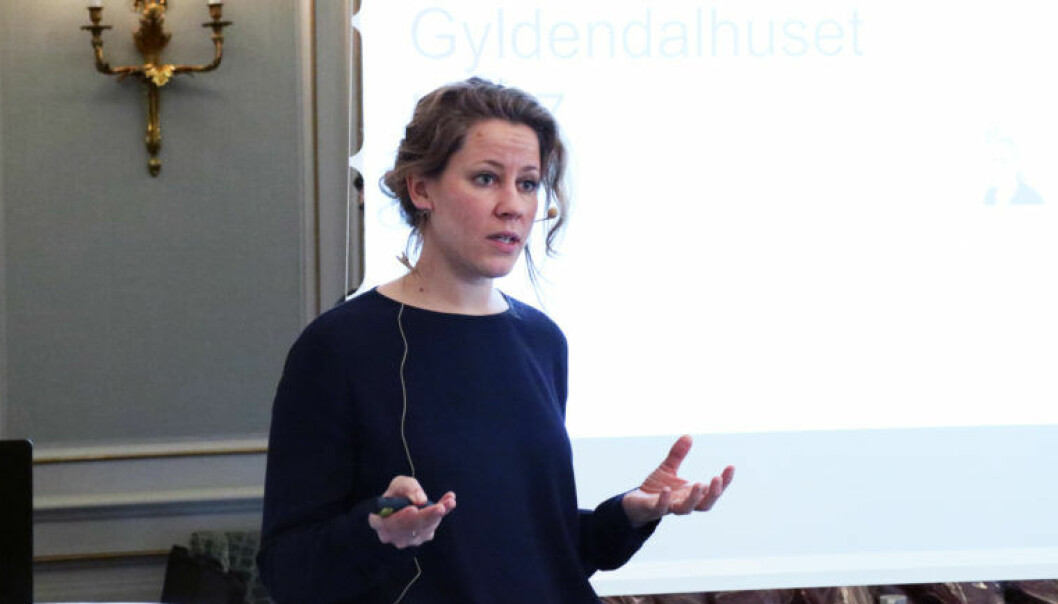 Merete Nygaard er tidligere Wiersholm-advokat og grunnlegger av Lawbotics. Foto: Henrik Skjevestad