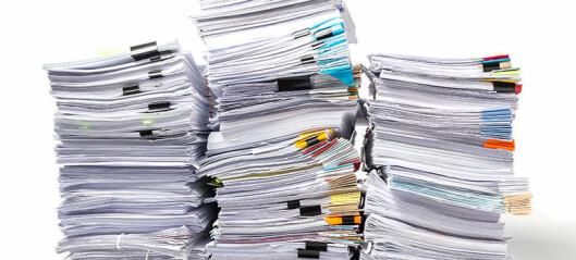 Kan ikke pålegge advokat å sladde 33.000 sider