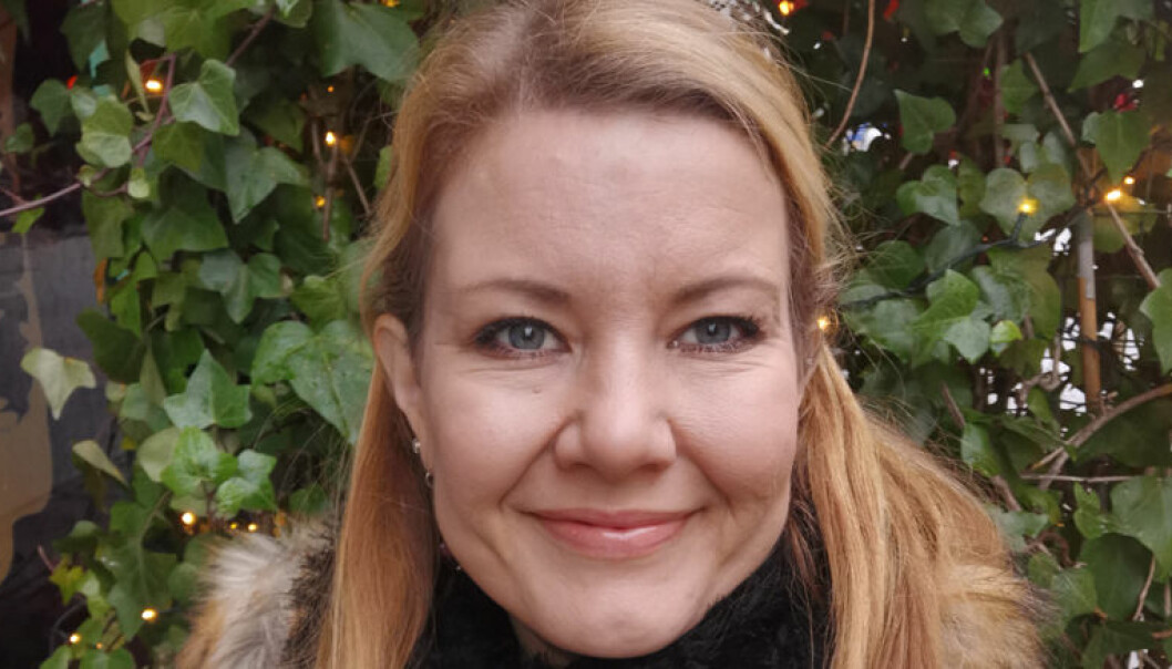 Kristin Bugge Midthjell kombinerer advokatrollen med vervet som leder av Yngre Advokater Trøndelag krets. Foto: Privat