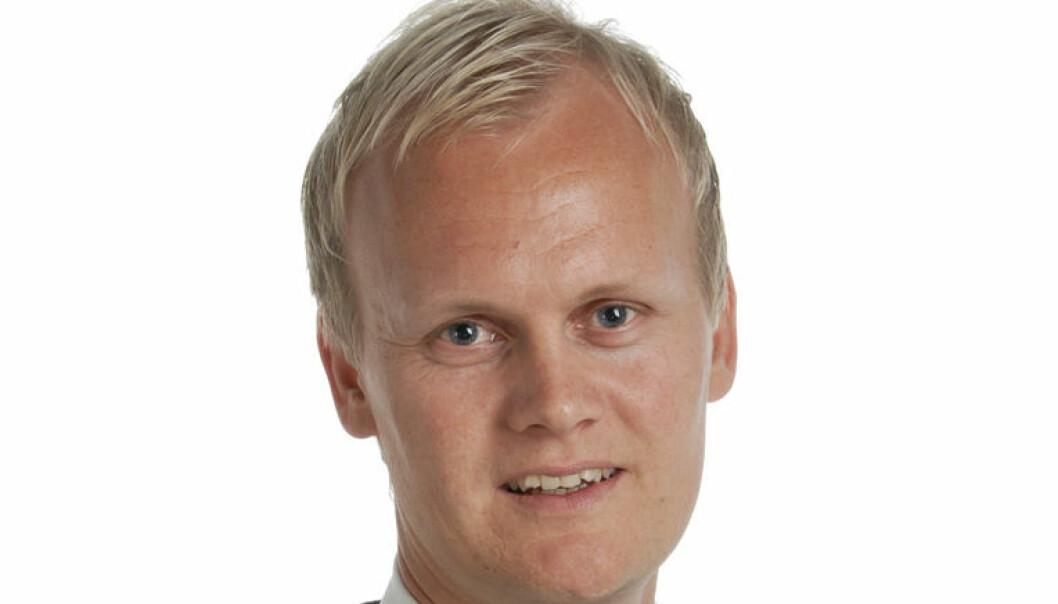Jusprofessor Hans Fredrik Marthinussen har engasjert seg i striden mellom Rosenborg og Haugesund denne uken. Foto: Alice Klokkeide.