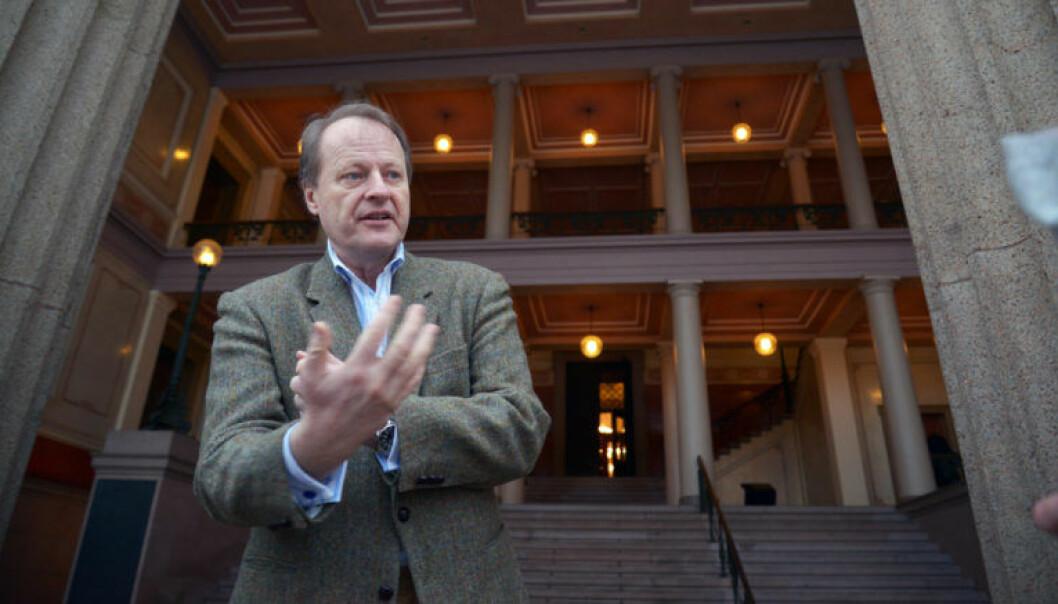 Professor Mads Andenæs (UiO) er blant annet tidligere leder av FNs arbeidsgruppe for vilkårlig fengsling. Foto: Ola Sæther