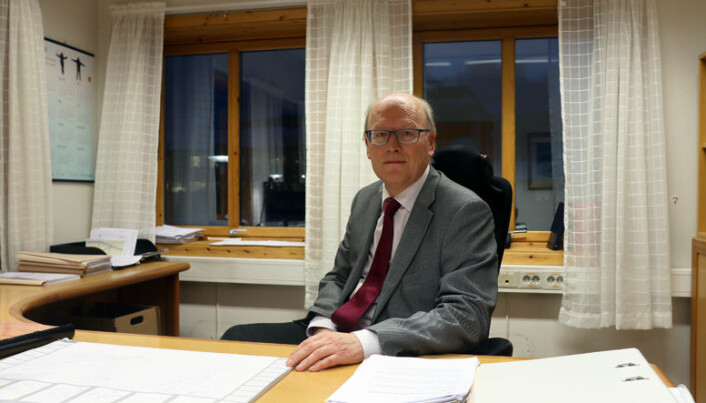 <html><head></head><body> – Alle advokatene her ser at Vesterålen tingrett har stor betydning for hvor vidt det er grunnlag for å drive som advokat i området, sier Oddmund Enoksen. Foto: Henrik Skjevestad</body></html>