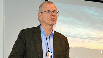 Yngve Svendsen leder Domstolkommisjonen.