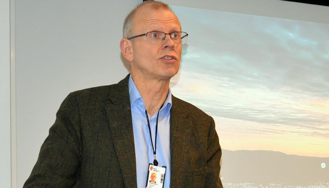 Yngve Svendsen har vært sorenskriver i Oslo tingrett siden august 2018.
