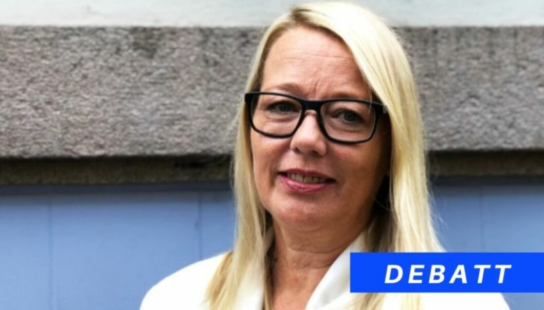 Forsvarsadvokat Marte Svarstad Brodtkorb mener det kan svekke Advokatforeningens troverdighet om de stiller for høye krav til den offentlige salærsatsen. Foto: Thea N. Dahl