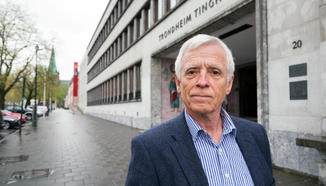 Lagdommer Mats Stensrud skriver i bokens forord at boken ikke er vitenskapelig, men en bok om hans hverdag, og om saker og erfaringer som har gjort inntrykk på ham. Foto: Thor Nielsen