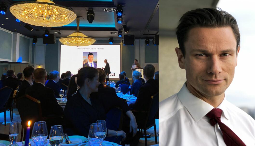 Wikborg Reins Geir Sviggum ble kåret til årets internasjonale advokat.