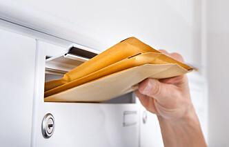 Kan fristavbrudd skje ved postlegging?