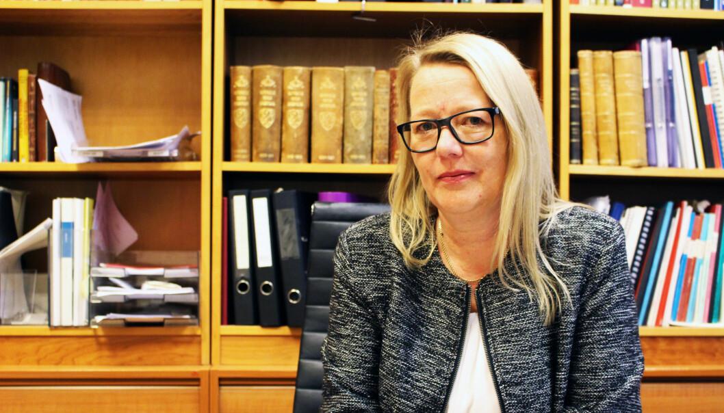 Advokat Marte Svarstad Brodtkorb mener advokater ikke trenger opplæring i håndtering av trussel- og voldssituasjoner, men at det gjelder å være dreven på hvordan man forholder seg til mennesker i krise.