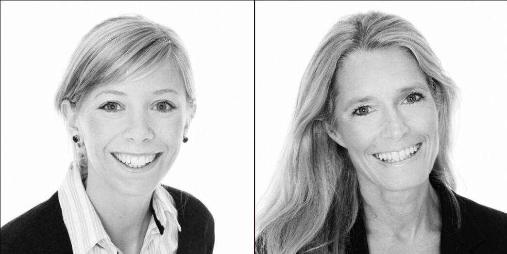 Hanne Strand og Caroline Lund.
