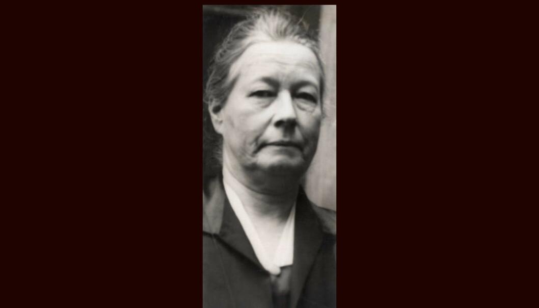 Elise Sem kjempet for økonomisk likestilling mellom kjønnene, og for kvinner og barns rettsstilling. Foto: Oslo Museum