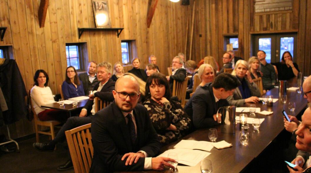 I underkant av førti advokater møtte opp da Advokatforeningen Østfold og Follo krets arrangerte årsmøte med påfølgende middag på restauranten Slippen i sentrum av Fredrikstad onsdag kveld.