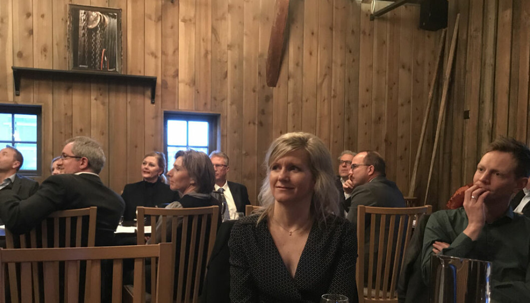 Maritime omgivelser på restaurant Slippen i Fredrikstad da Advokatforeningen Østfold og Follo krets hadde årsmøte denne uken.