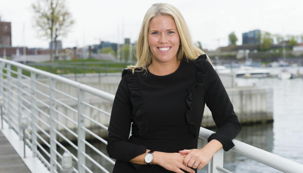 Ylva B. Gjesdahl Petersen ble i 2017 trukket frem som ett av Thommessens talenter da firmaet ble nominert til Advokatforeningens talentpris. Nå blir hun partner. Foto: Geir Egil Skog
