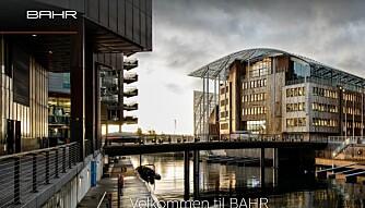 Advokatfirmaet BAHR holder til på Tjuvholmen i Oslo. Foto: Skjermdump
