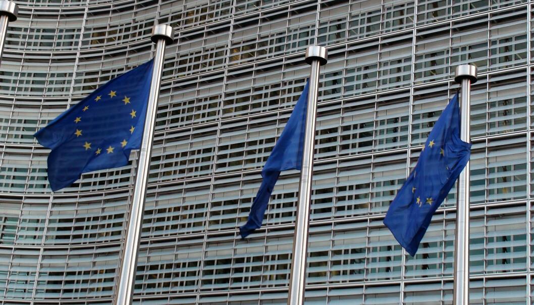 EU vil sikre at Polen retter seg mot unionens lover om uavhengige domstoler. Her fra EU-bygningen i Brüssel. Foto: iStock