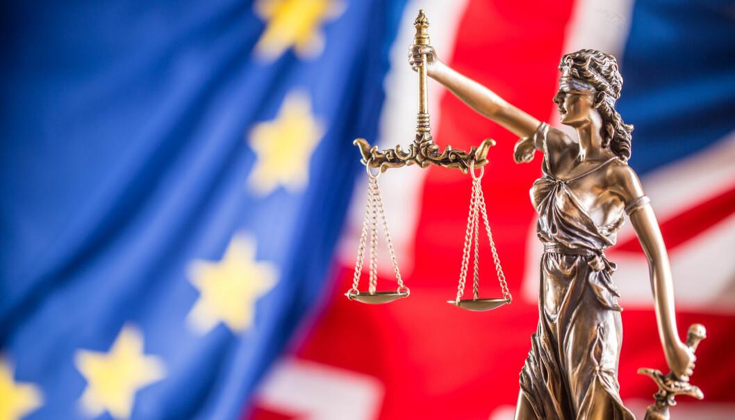 Regjeringen vil sikre advokaters virke ved en eventuell hard Brexit. Foto: iStock/MarianVejcik