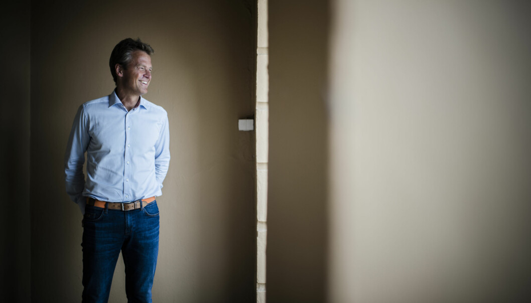 Advokatforeningens leder, Jens Johan Hjort. Foto: Henrik Evertsson