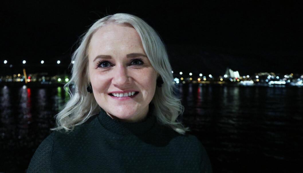 – Jeg er stolt av hvor engasjert kretsens medlemmer var under årsmøtet, sier leder for Troms krets, Kathrine Jakobsen. Foto: Thea N. Dahl