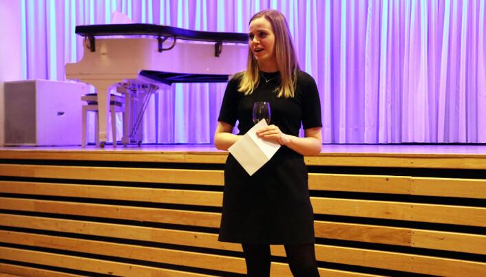 Viktoria Hauan er leder for Yngre advokater i Troms.
