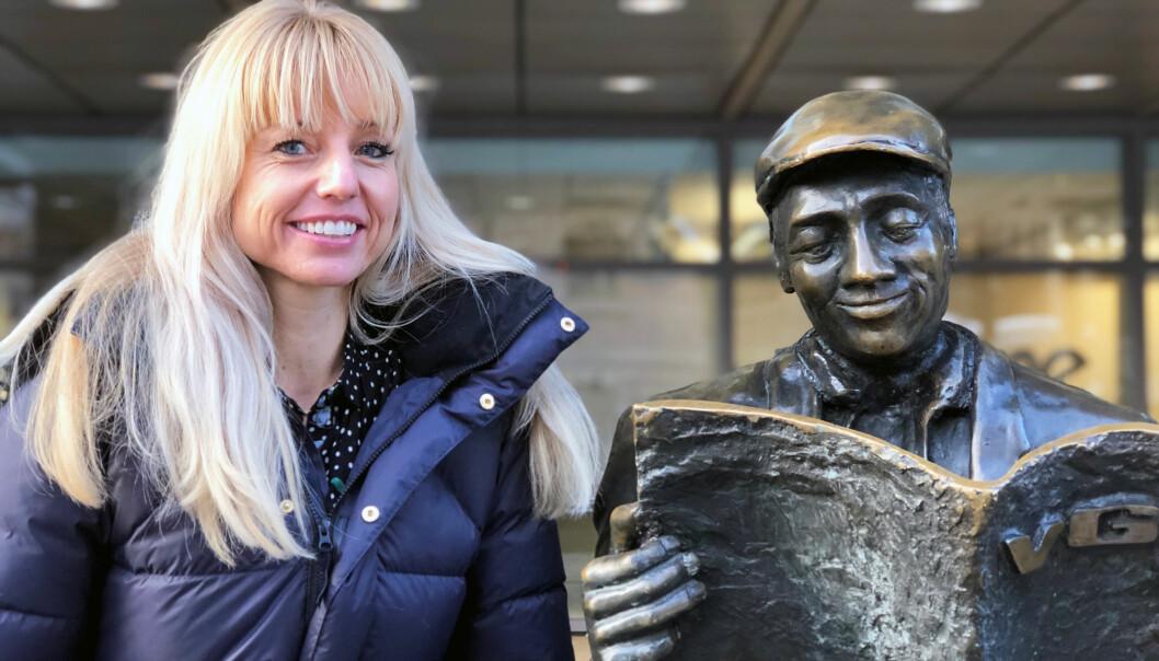 I fjor ble Ingvild Næss kåret til en av Norges 50 fremste tech-kvinner av Abelia og ODA-nettverket. Nå, i Finansavisen JUS' årlige Advokatundersøkelse, ble Næss kåret til årets «up and coming» som internadvokat, på delt førsteplass med Jørgen Gran i Scandza. Foto: Thea N. Dahl