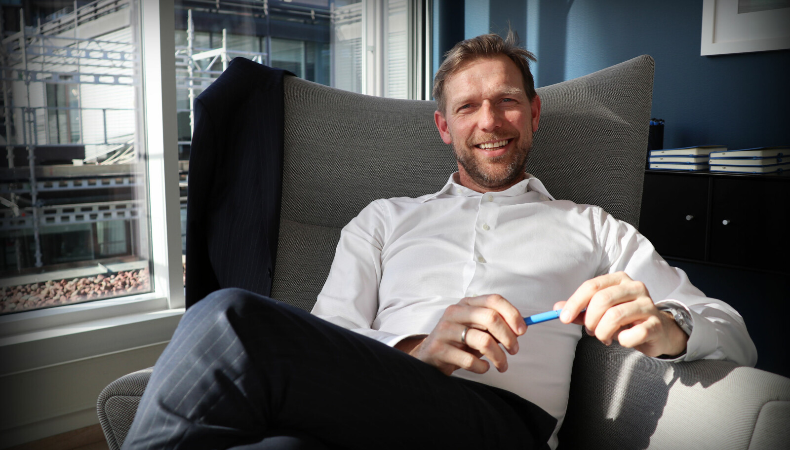 Kaare Oftedal er managing partner i DLA Piper Norway. For litt siden var kjønnsbalanse og talentflukt tema for årets første partnersamling i selskapet.
